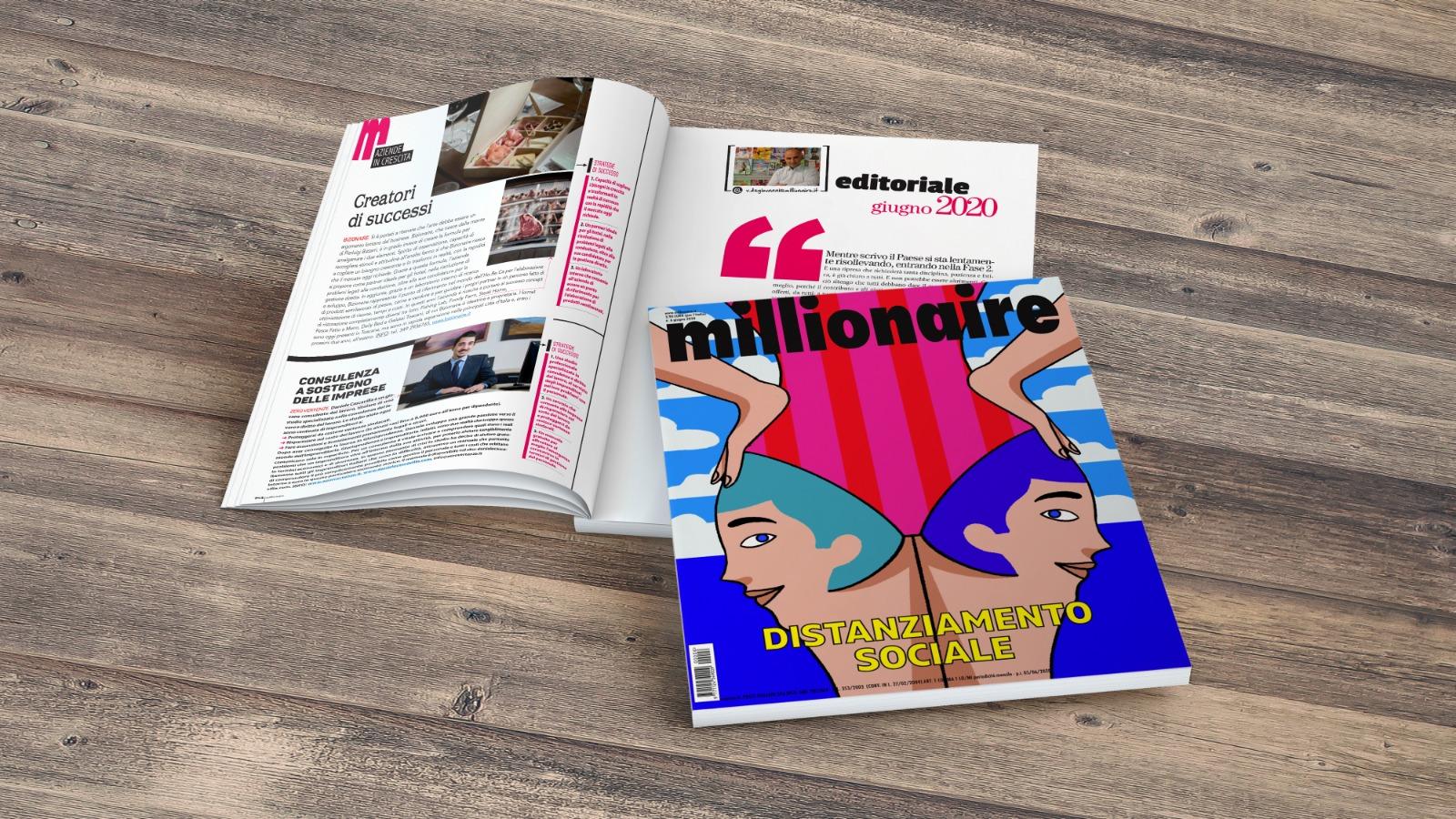Millionaire Giugno 2020 Daniele Cascavilla Aziende in Crescita consulenza del lavoro
